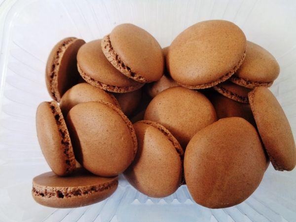 френски макарони какао